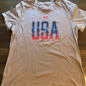 Under Armour Women's USA T-shirt